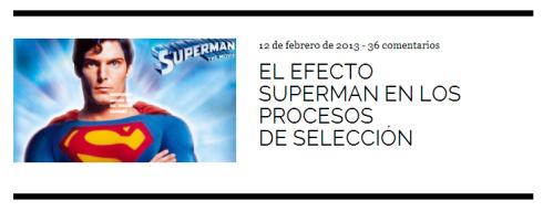 Efecto superman