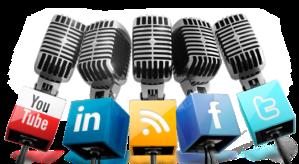 microfonos redes sociales