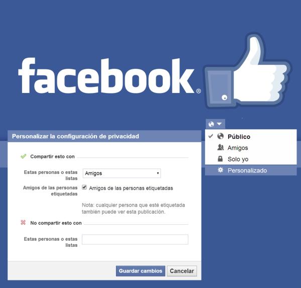 configuracion de actualizaciones facebook