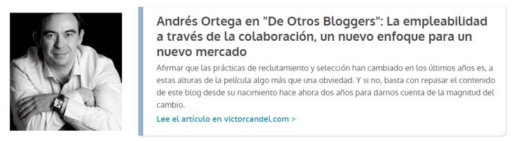 Guest Post Andres Ortega