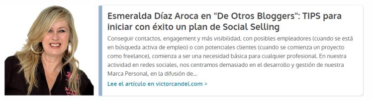 Guest Post Esmeralda Diaz Aroca