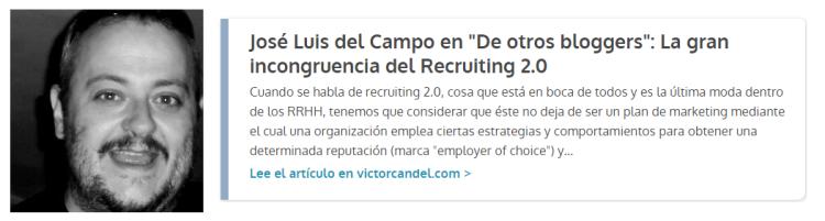 Guest Post Jose Luis del Campo