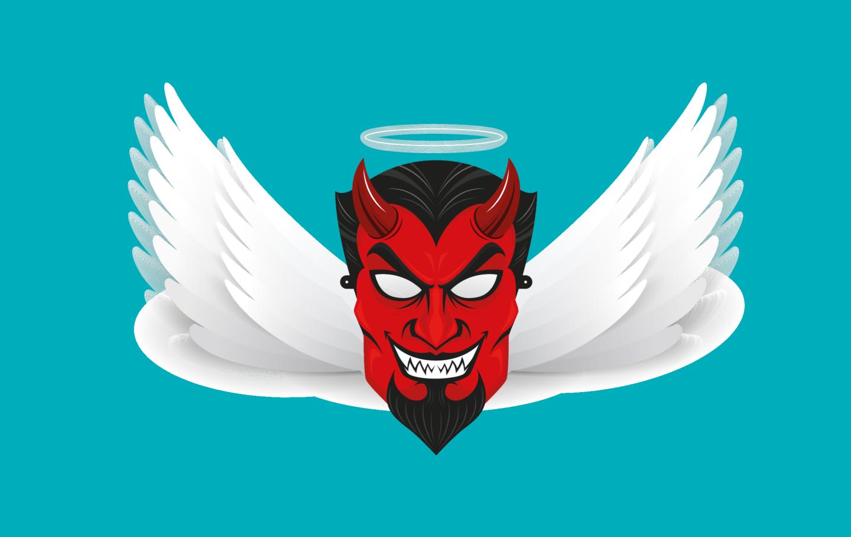 angel y demonio