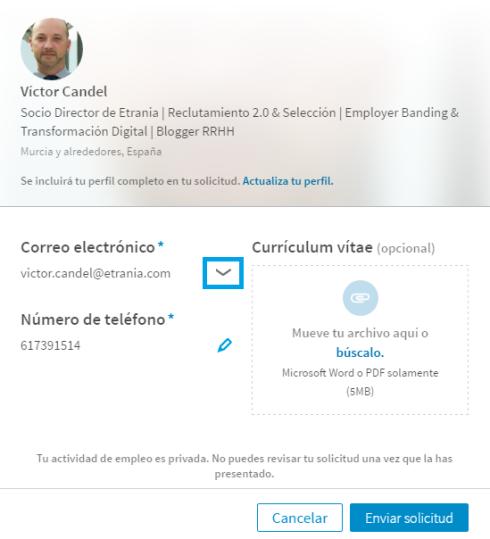 Oferta empleo Linkedin1
